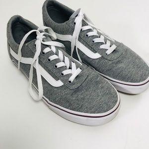 Vans Gray White